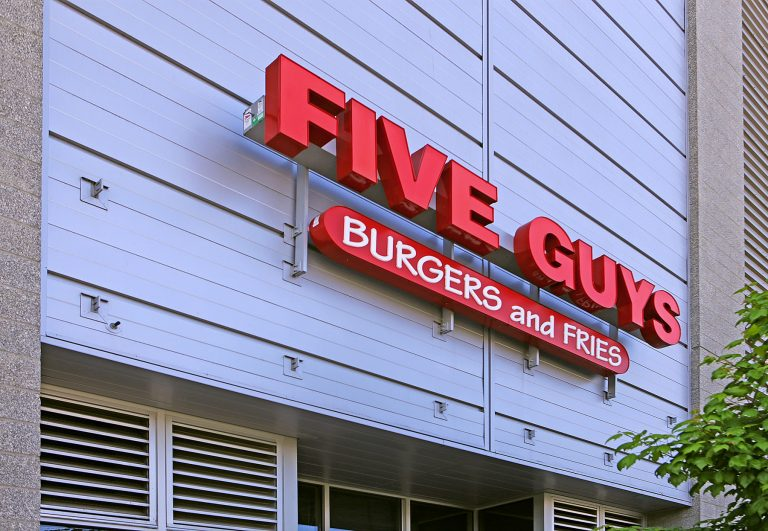 Five Guys Near Thornton Place Apartments In Seattle, WA
