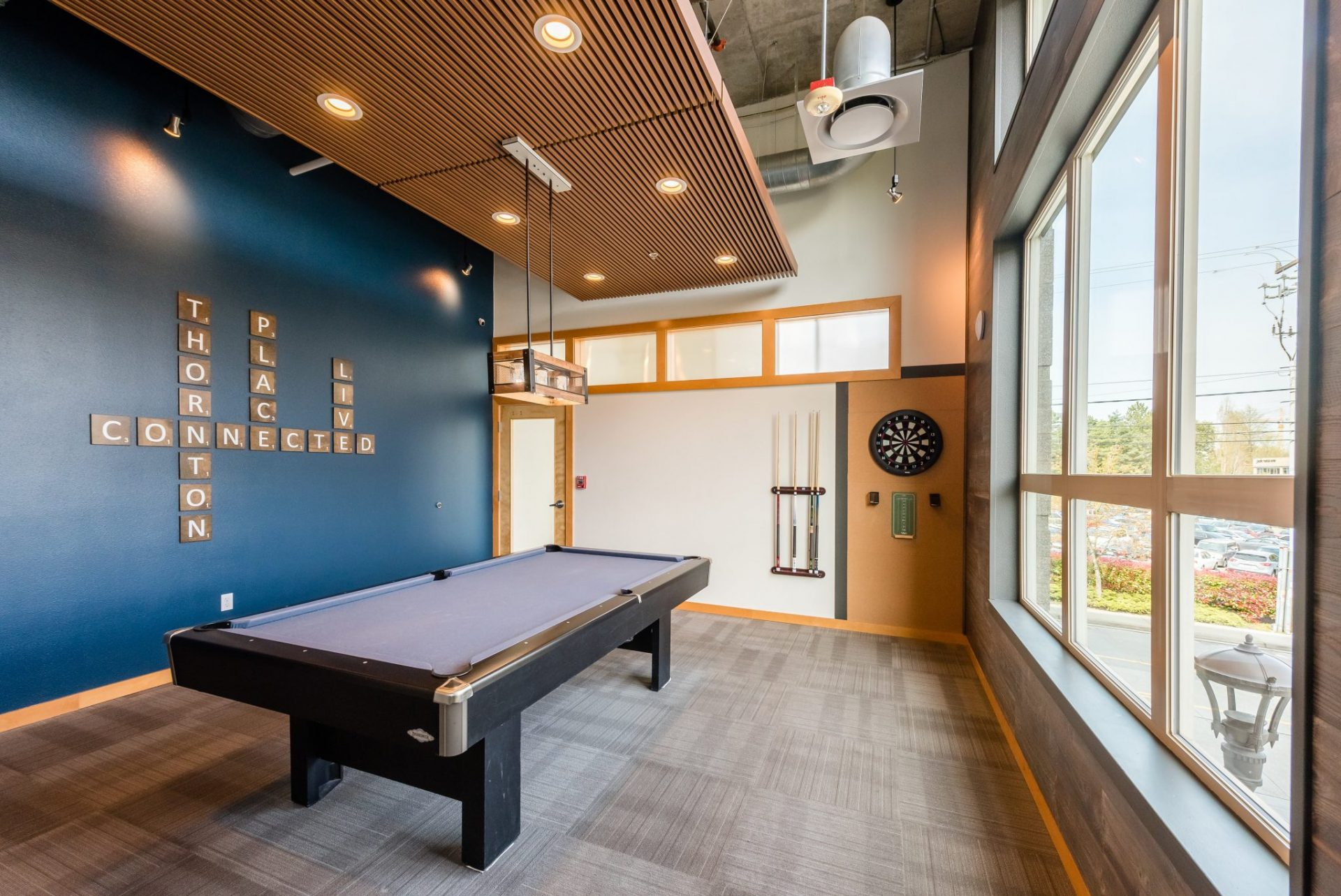 Game Room At Thornton Place Apartments In Seattle, WA